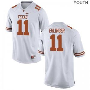 UT Sam Ehlinger Youth Game Jersey - White