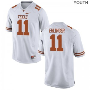Limited White Sam Ehlinger Jersey Kids Longhorns