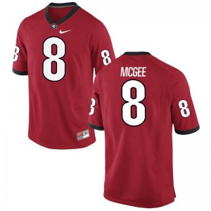 Limited Red Ladies Georgia NCAA Jersey of Shaun McGee