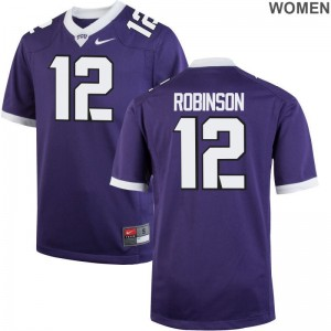 TCU Womens Limited Shawn Robinson NCAA Jersey - Purple