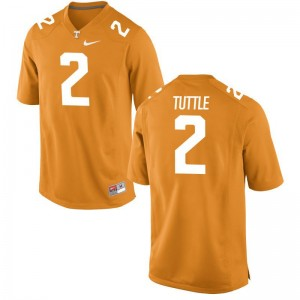 Shy Tuttle Tennessee Volunteers Jersey S-3XL Orange Game Mens