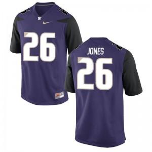 Sidney Jones Limited Jersey Womens Washington Purple Jersey