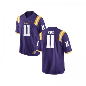 Spencer Ware LSU Youth(Kids) Purple Game Player Jerseys