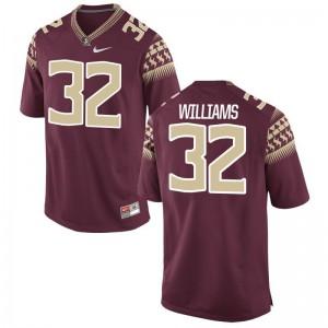 Steven Williams Mens NCAA Jersey Florida State Seminoles Limited - Garnet