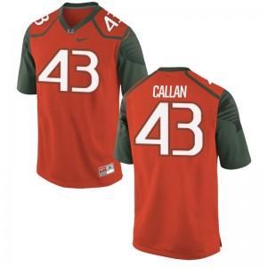 TJ Callan Hurricanes Limited Men Jersey - Orange