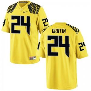 Oregon Taj Griffin Jersey S-3XL Men Limited - Gold