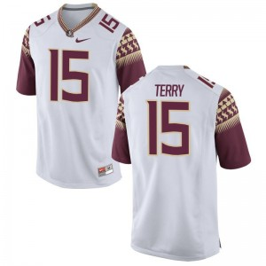 Tamorrion Terry Florida State Seminoles Jersey White For Men Game