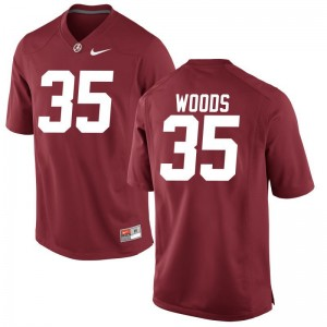Limited Red Kids Bama College Jersey of Thomas Woods