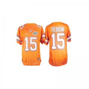 UF Game Tim Tebow Youth High School Jerseys - Orange