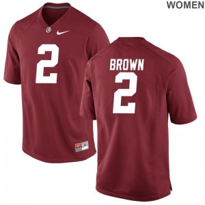 Limited Red For Women Bama Jerseys of Tony Brown