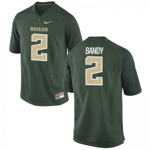 Miami Hurricanes Trajan Bandy Mens Game Football Jerseys Green
