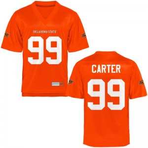 Limited Men Oklahoma State Cowboys Jersey Trey Carter - Orange