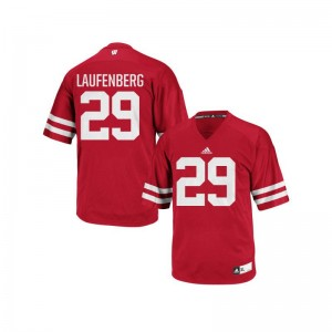 Wisconsin Badgers Troy Laufenberg Player Jerseys Red Authentic Men