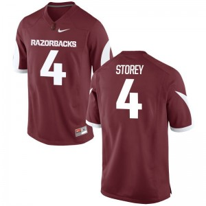 Arkansas Ty Storey NCAA Jersey Game Mens Jersey - Cardinal