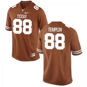 Ty Templin Longhorns Jersey Game Orange Men