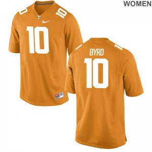 Vols Tyler Byrd Jersey S-2XL Ladies Orange Limited