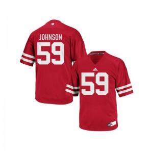 Tyler Johnson Wisconsin Badgers Jerseys Authentic Red For Men Jerseys