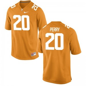 Game Vincent Perry Jersey Tennessee Vols Womens - Orange