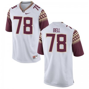 Florida State Seminoles Player Jersey Wilson Bell Game White For Men