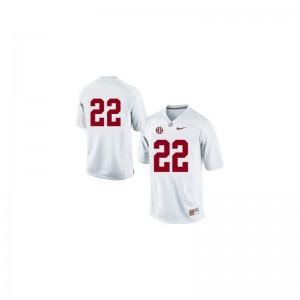 Mark Ingram Limited Jerseys Ladies Alumni Bama #22 White Jerseys