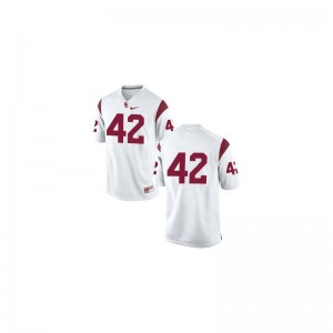Ronnie Lott Limited Jerseys Womens USC Trojans #42 White Jerseys