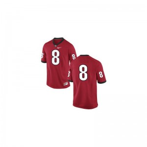 A.J. Green Georgia Jersey Womens #8 Red Game