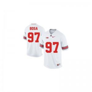 Ohio State Joey Bosa Game Ladies Jerseys - #97 White