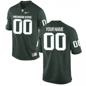 Michigan State Spartans College Customized Jersey Youth(Kids) Limited - Green