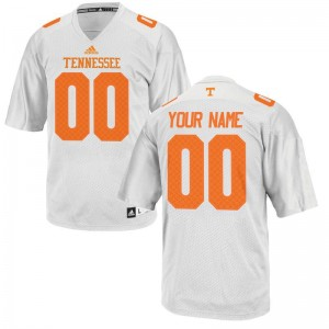 Customized Jerseys S-XL Kids Tennessee Volunteers Limited - White