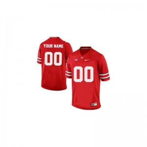 Ohio State Buckeyes Customized Jersey S-XL Limited Youth(Kids) Customized Jersey S-XL - Red
