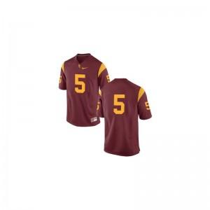 Trojans High School Reggie Bush Game Jersey #5 Cardinal For Kids