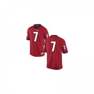 Kids Matthew Stafford Jersey Alumni #7 Red Limited UGA Bulldogs Jersey