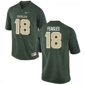 Limited Green For Men Hurricanes High School Jersey of Zach Feagles