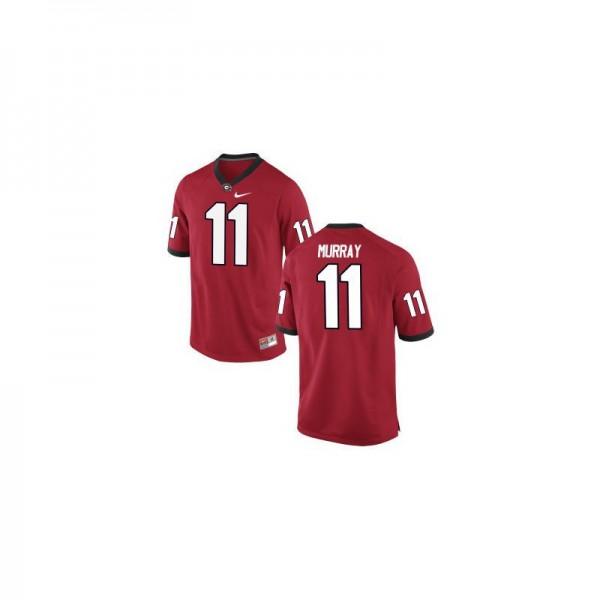 9ed89e6a79e University of Georgia Aaron Murray Red Men Limited Football Jerseys
