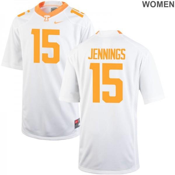 Vols Jauan Jennings Jerseys White Womens Limited Jerseys