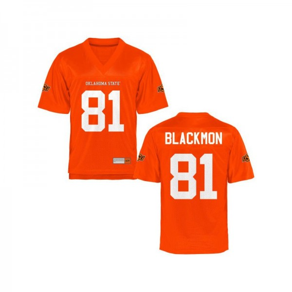 premium selection 16f11 f7d48 Game For Women Oklahoma State High School Jersey Justin Blackmon - Orange
