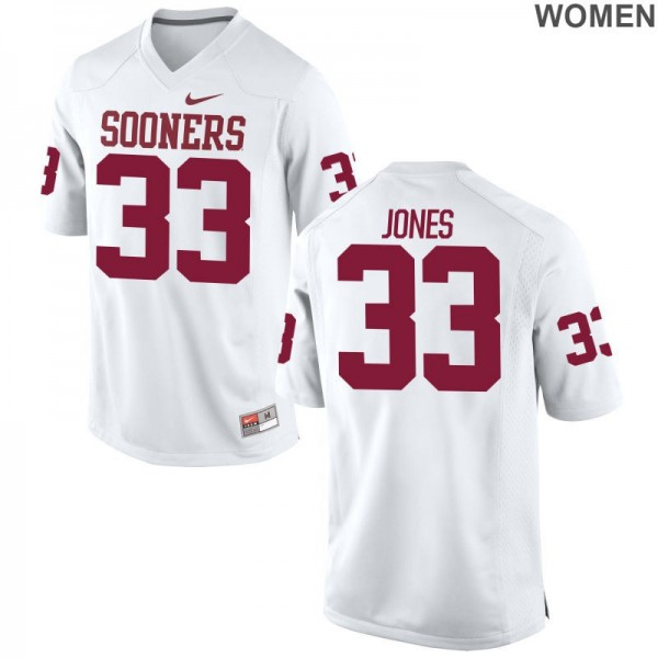 half off 96077 eb898 Limited White Women OU Football Jersey Ryan Jones